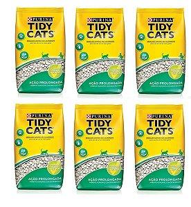 Granulado Higiênico Tidy Cat Combo 6un 2kg Cada - Purina