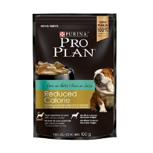 Alimento Úmido Para Cães Reduced Calorie Sachê Peru 100g - Pro Plan