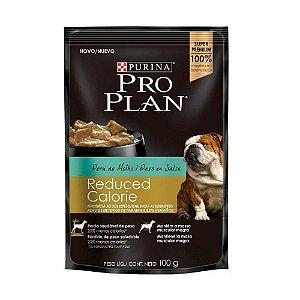 Alimento Úmido Para Cães Reduced Calorie Sachê Peru Combo 15un 100g Cada - Pro Plan