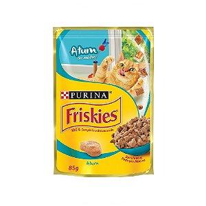 Alimento Úmido Para Gatos Sachê Atum Combo 15un 85g Cada - Friskies