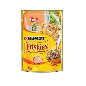 Alimento Úmido Para Gatos Sachê Peru Combo 15un 85g Cada - Friskies