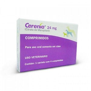 Cerenia Antiemético 24mg 4 Comprimidos - Zoetis