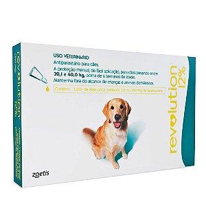Revolution Cães 20,1 A 40kg Combo 3 Pipetas - Zoetis