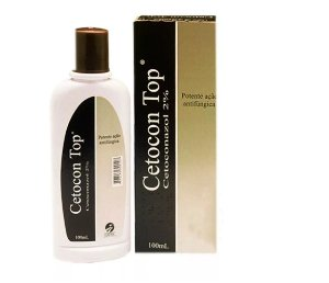 Shampoo Fungicida Cetocon Top 100ml - Cepav