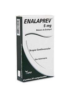 Vasodilatador Enalaprev 5mg 20 Comprimidos - Cepav