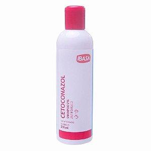 Shampoo Antifúngico Cetoconazol 2% 200ml - Ibasa