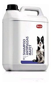 Shampoo Antipulgas Antisséptico Ibapet 5l - Ibasa