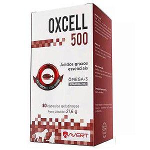 Suplemento Vitamínico Oxcell 500mg 30 Cápsulas - Avert