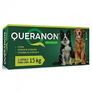 Suplemento Vitamínico Queranon 15kg 30 Cápsulas - Avert
