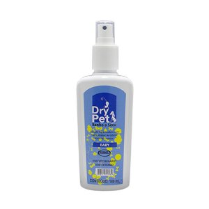 Banho A Seco Dry Pet Baby 180ml Higienizador - Ecovet