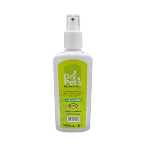 Banho A Seco Dry Pet Jaborandi 180ml Higienizador - Ecovet