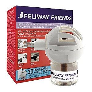 Feliway Friends Difusor + Refil 48ml Diminuição de Conflitos - Ceva