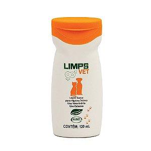 Loção Higienização Íntima Limps Vet 120ml Ecovet