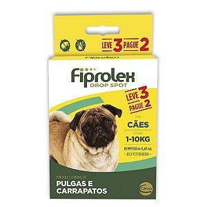 Antipulgas Fiprolex Para Cães Até 10kg Pague 2 Leve 3 - Ceva