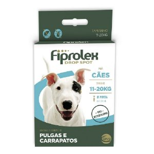 Antipulgas Fiprolex Para Cães 11kg a 20kg 1,34ml - Ceva