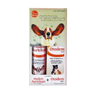 Combo Otodem Auriclean 100ml + Otodem Plus 20ml - Ceva