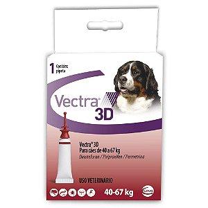 Antipulgas Vectra 3D Cães 40 A 67kg - Ceva