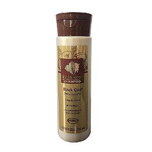 Shampoo Black Coat Avelã & Henna 300ml - Ecovet