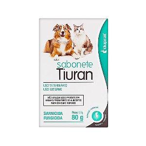 Sabonete Sarnicida e Fungicida Tiuran 80g - Duprat