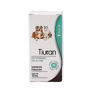 Solução Sarnicida e Fungicida Tiuran 30ml - Duprat