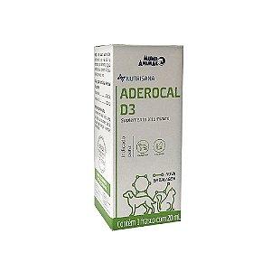 Suplemento Vitamínico Nutrisana Aderocal D3 20ml - Mundo Animal