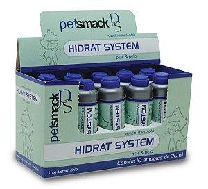 Hidratação Hidrat System 10 ampolas 20ml Cada - Pet Smack