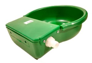 Bebedouro Pet Verde com Boia 4L - Baspan