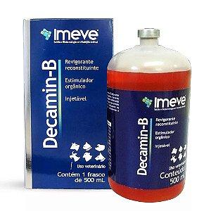 Decamin-B Vitamina Modificador Orgânico Bcaa Injetável 500ml - Imeve
