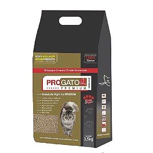 Areia Higiênica Premium Para Gatos 3,5kg - ProGato