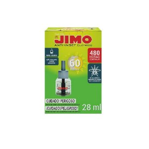 Anti-Inset Refil Líquido 60 Noites Mosquitos 28ml - Jimo
