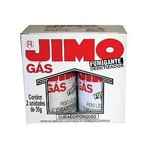 Jimo Gás Fumigante Dedetizador 2 Tubos 35g Cada