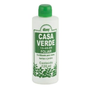 Fertilizante Casa Verde Foliar 120ml - Dimy