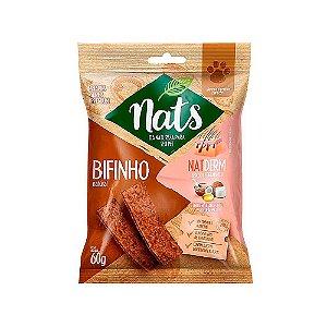 Snack Bifinho Natural NatDerm 60g - Nats