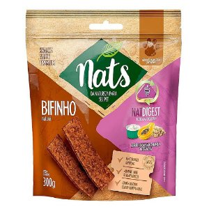 Snack Bifinho Natural NatDigest 300g - Nats