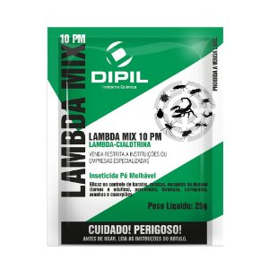 Lambda Mix 10 PM Inseticida 25g - Dipil