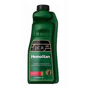 Suplemento Vitamínico Hemolitan J.C.R 1L - Vetnil