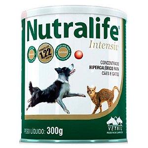 Suplemento Vitamínico Nutralife Intensiv Para Cães E Gatos 300g - Vetnil