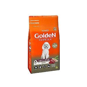 Alimento Para Cães Golden Fórmula Carne & Arroz Raças Pequenas Adultas 1kg - PremierPet
