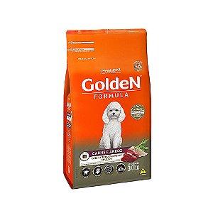 Alimento Para Cães Golden Fórmula Carne & Arroz Raças Pequenas Adultas 3kg - PremierPet