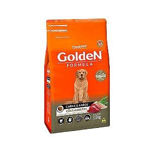 Alimento Para Cães Golden Fórmula Carne & Arroz Adultos 3kg - PremierPet