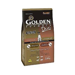 Alimento Para Cães Golden Fórmula Duo Frango & Carnes Mini Bits 3kg - PremierPet