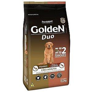 Alimento Para Cães Golden Fórmula Duo Frango & Carnes 15kg - PremierPet