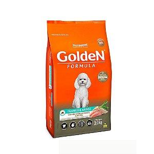 Alimento Para Cães Golden Fórmula Frango & Arroz Raças Pequenas Adultas 3kg - PremierPet
