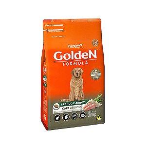 Alimento Para Cães Golden Fórmula Frango & Arroz Adultos 3kg - PremierPet