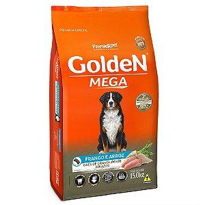 Alimento Para Cães Golden Mega Adultos Frango & Arroz 15kg - PremierPet