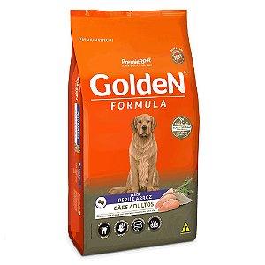 Ração Premium Especial Golden Fórmula Cães Adultos Raças Médias e Grandes Sabor Peru e Arroz 15kg - PremierPet