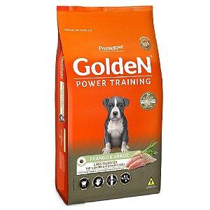 Ração Premium Especial Golden Power Training Cães Filhotes Sabor Frango e Arroz 15kg - PremierPe