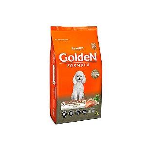 Alimento Para Cães Golden Fórmula Salmão & Arroz Raças Pequenas Adultas 3kg - PremierPet