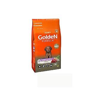 Alimento Para Cães Golden Fórmula Carne & Arroz Raças Pequenas Filhotes 1kg - PremierPet