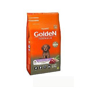 Alimento Para Cães Golden Fórmula Carne & Arroz Raças Pequenas Filhotes 3kg - PremierPet